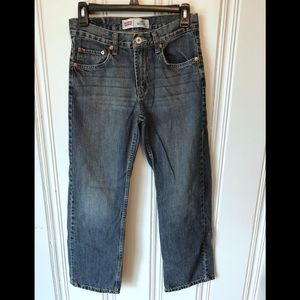 Boys 14 reg Levi's 550 Relaxed Fit Denim Jeans
